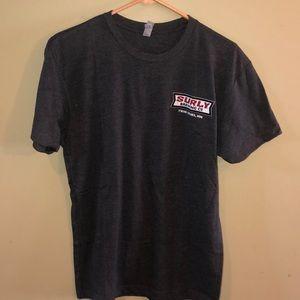 NWOT Men's Next Level Surly Brewing Co Tee Shirt